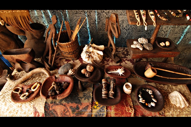 A Tableful of Native Trinkets from Kuweba Arts and Crafts in Coron