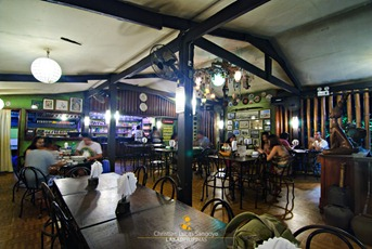 Cozy Dining Hall at Coron Village Lodge