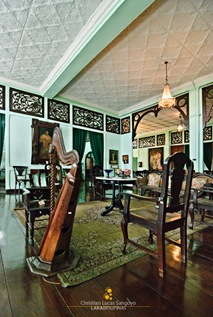 The Main Living Area of Bernardino Jalandoni Museum in Silay City