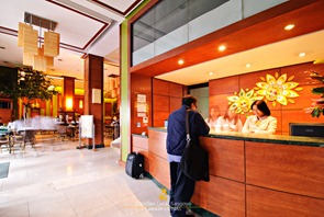 The Hotel Lobby at Bacolod Business Inn