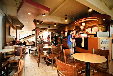 The Regular Looking Ground Floor Area at Starbucks Tagaytay