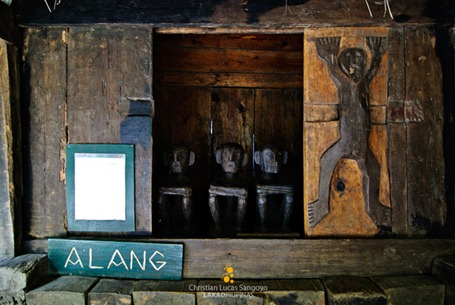 Bulol's or Rice Gods at Tam-Awan Village, Baguio City