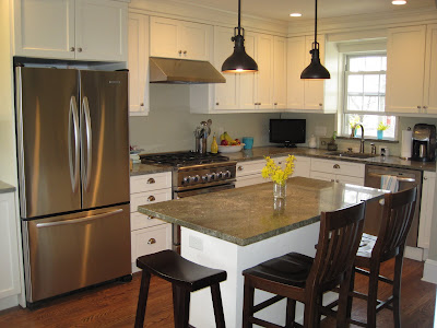 exciting kitchen island seating | Pictures- small kitchen island with seating on end