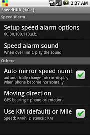 SpeedHUD Screenshot 2