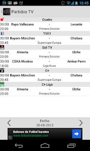 Social Fútbol - Resultados - screenshot thumbnail