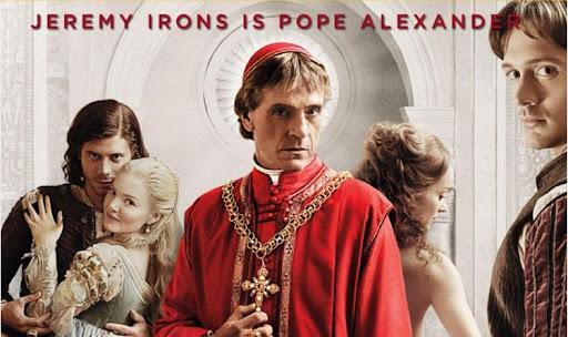 Плакат сериала The Borgias