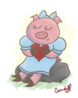piggie-in-love