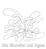 Dibujos Para Colorear Día Del Agua Colorear Dibujos Infantiles