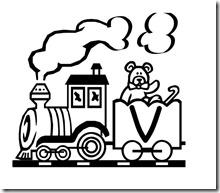 abecedario de tren 15