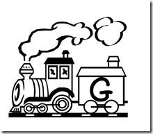 abecedario de tren 25
