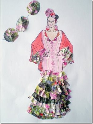 blogcolorear flamenca