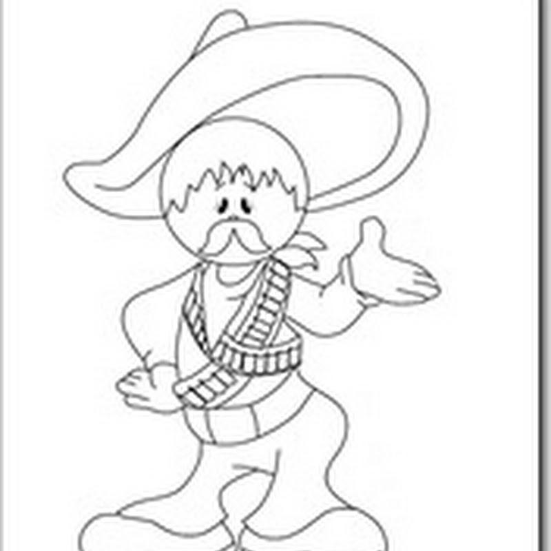 Dibujos Para Colorear Revolución Mexicana Blog De Imágenes