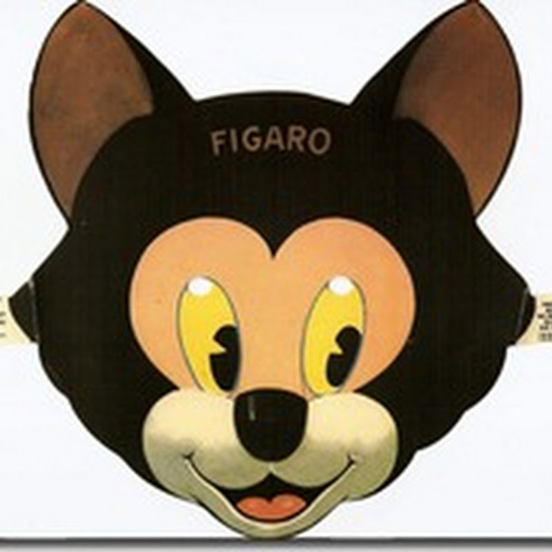máscara personajes de pinocho para imprimir