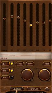 Poweramp skin Steampunk v1.0.4