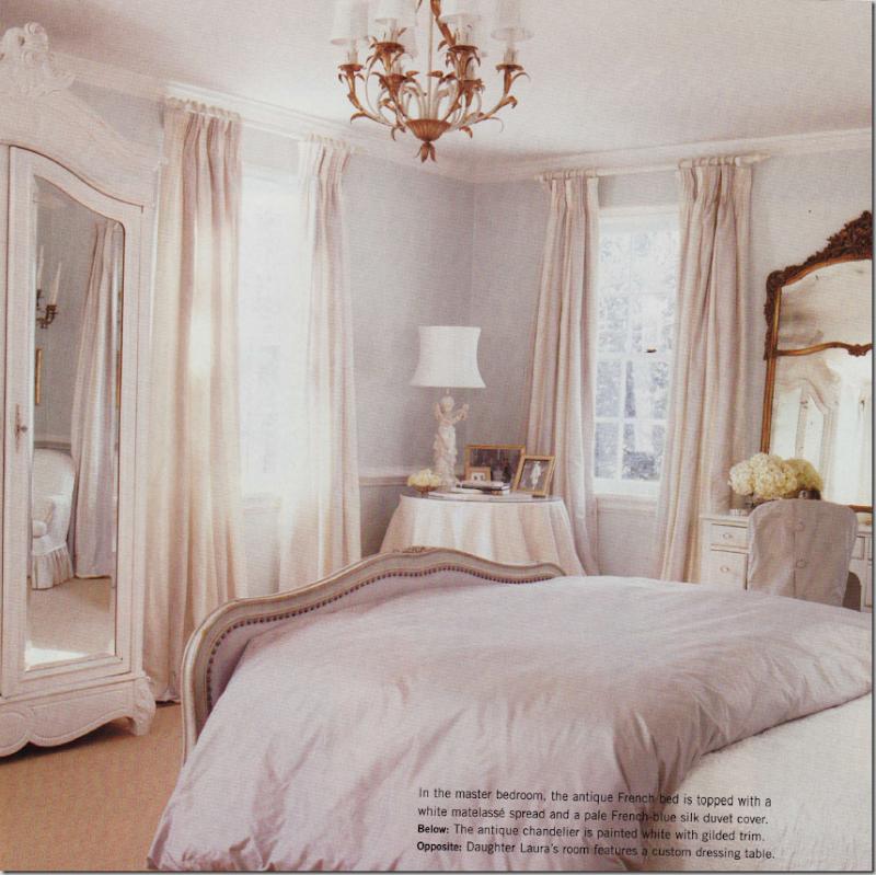 Cote de texas suellen gregory Pale grey master bedroom
