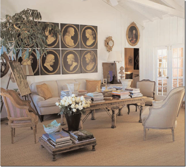 Shows The Former Palm Beach House Of Lars Bolander A Swedish Interior