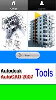 Screenshot of Autocad 2007 Tools