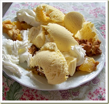 crumble mangue Bart