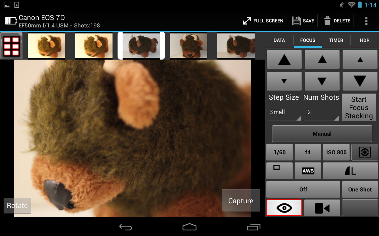 CamRanger Wireless DSLR Remote - screenshot