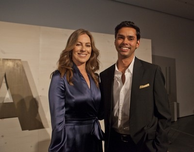 KATHRYN BIGELOW and RAJENDRA ROY, MoMA Chief Curator, Film