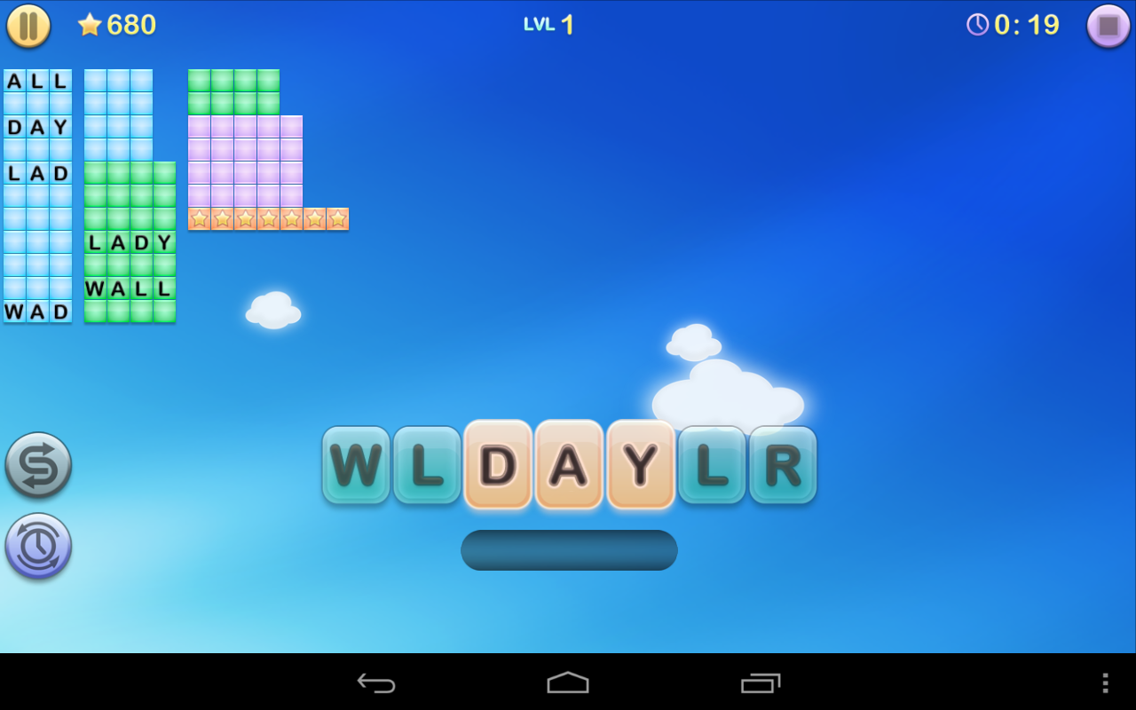 Jumbline 2 - word game puzzle- screenshot