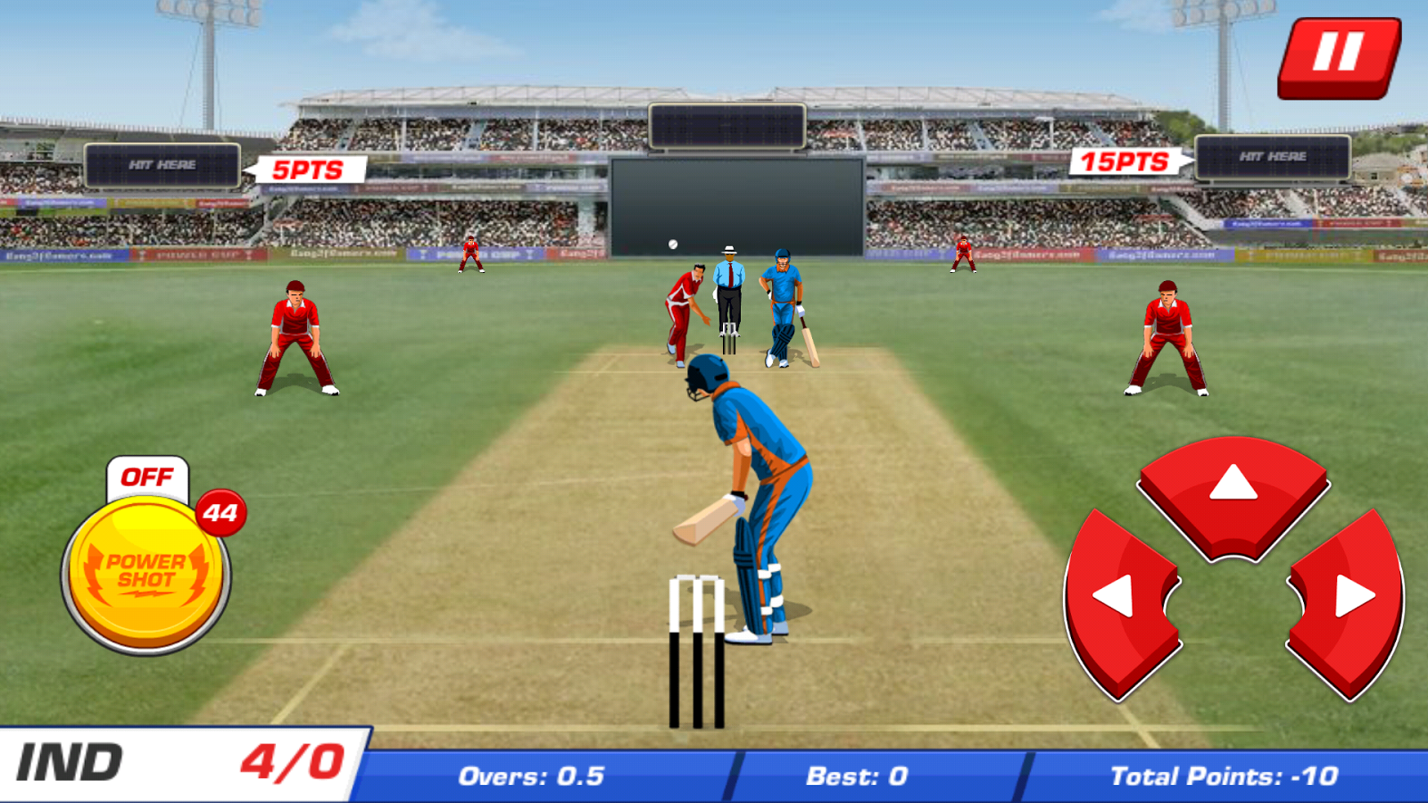 Power Cricket T20 League 2015- screenshot