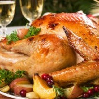 Brined, Roasted Holiday Turkey