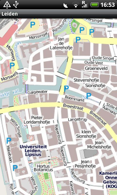 Leiden Street Map Android Apps on Google Play