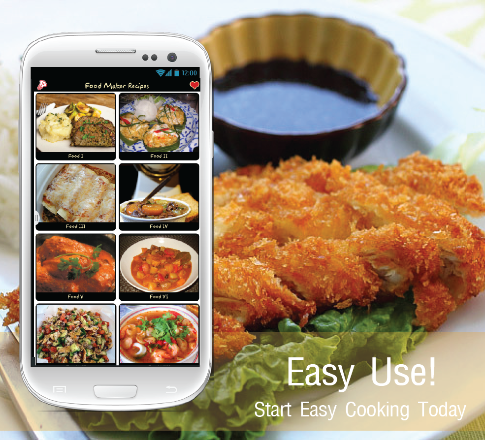 Food maker free android apps on google play for Cuisine generator