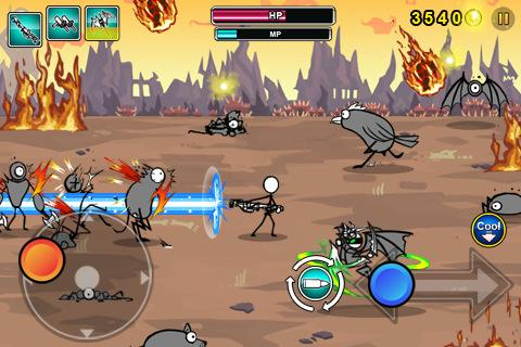 Cartoon Wars: Gunner+ APK screenshot thumbnail 4