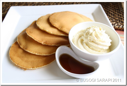 PANCAKES WITH WHIPPED VANILLA CREAM & SYRUP© BUSOG! SARAP! 2011