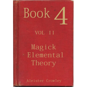 Book 4 Part Ii Magick Elemental Theory Cover