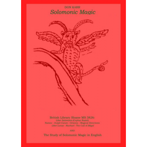 The Study Of Solomonic Magic In English Cover