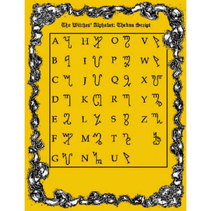 Magical Scripts And Cipher Alphabets Cover