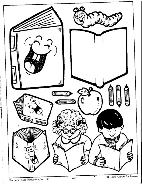 Dibujos Para Colorear Dia Del Libro