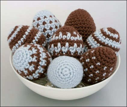 Crocheted Eggs 08