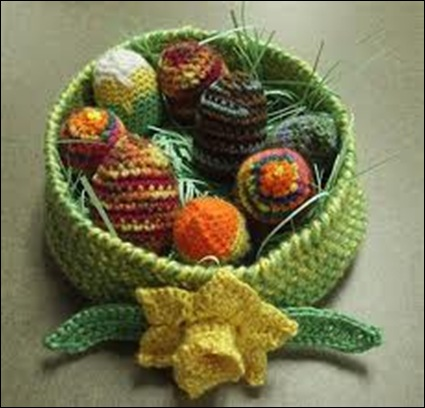 Crocheted Eggs 09