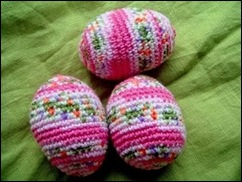 Crocheted Eggs 01