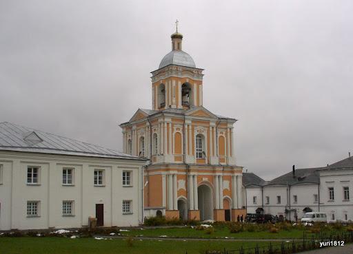 Хутынский Спасо-Преображенский монастырь Колокольня фото yuri1812
