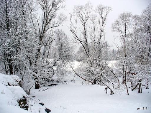 Зимний пейзаж Winter landscape photo yuri1812