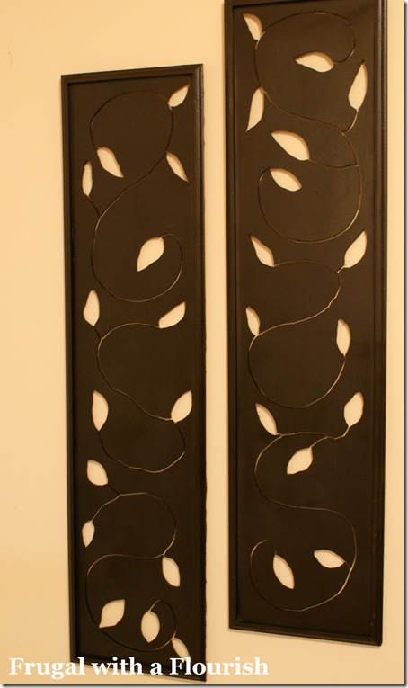 Frugal With A Flourish Make Your Own Decorative Wall Panels
