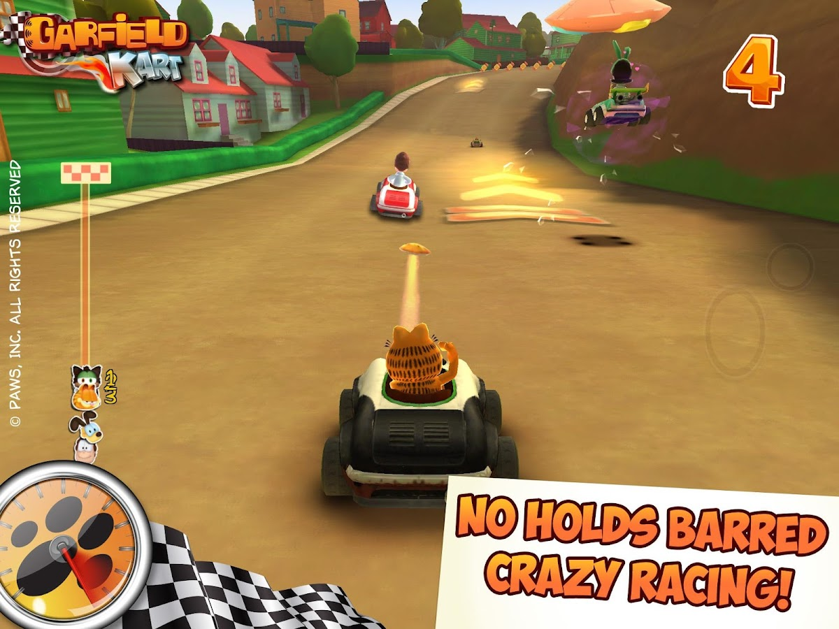 Garfield Kart - screenshot