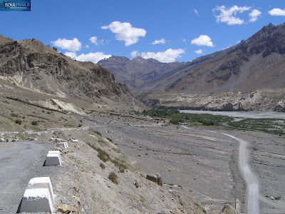 The road to Dhankar
