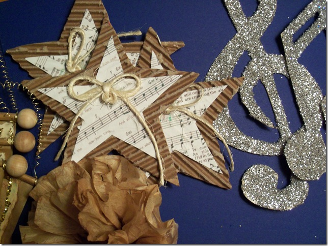 Music Themed Christmas Ornaments.Woman On A Mission More Diy Christmas Ornaments