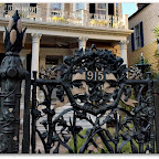 Historic Wrought Iron Fench in French Quarter