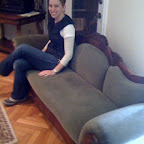 Lizzie and Amanda take a quick trip to find a sofa for a custom project!