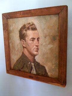 War Hero Painting (unknown artist)
