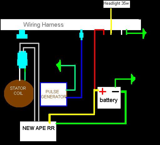 Honda Motorcycle Hid Headlight Wiring Diagram - Wiring