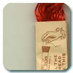 image of hand embroidery thread