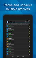 Screenshot of B1 Archiver zip rar unzip